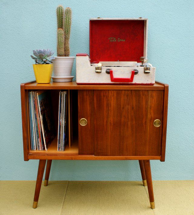 vintage furniture look out for one of these vintage record cabinets - to store the fbcdnuh