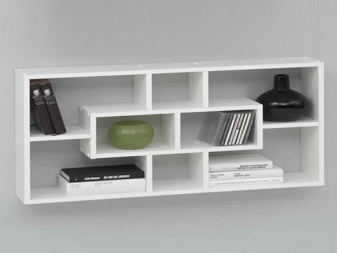 wall mounted bookshelves - wall mounted shelves at home depot fpsuqhr