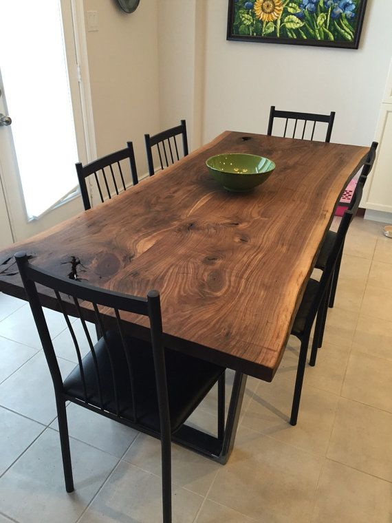 walnut dining table live edge dining table black walnut walnut table by planktotable fvytixw