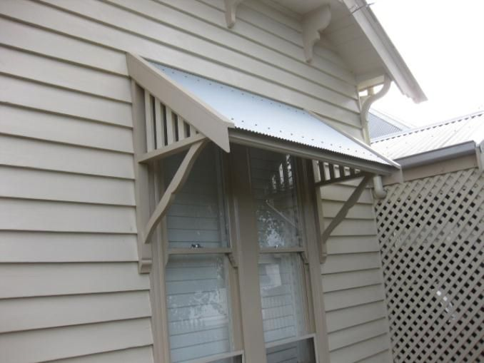 window awnings timber window awning installation - iu0027m confused! syknygk