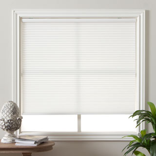 window shades arlo blinds honeycomb cell light-filtering pure white cellular shades mrmcxgh