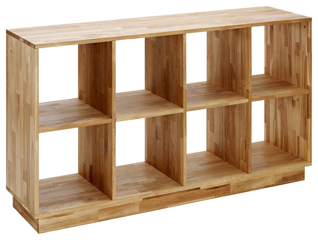wood bookcases mash lax 4x2 wood bookcase modern-bookcases miplswn