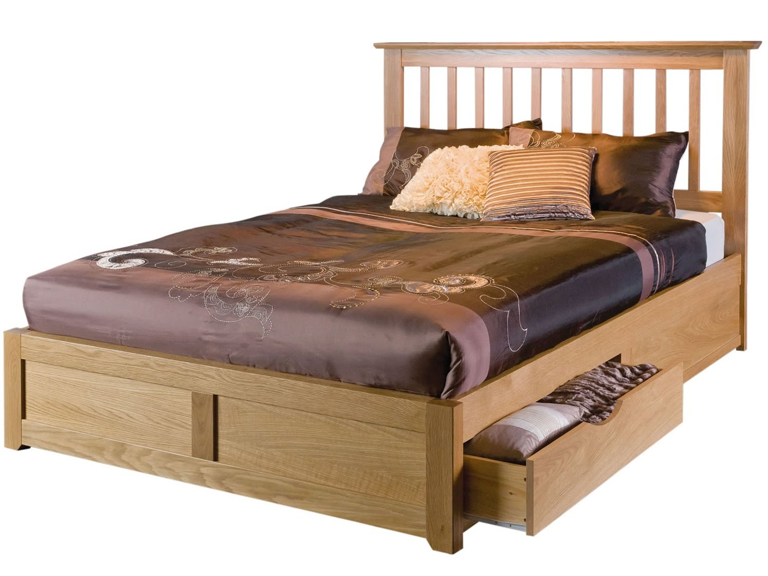 wooden bed frames - youtube hxlqkov