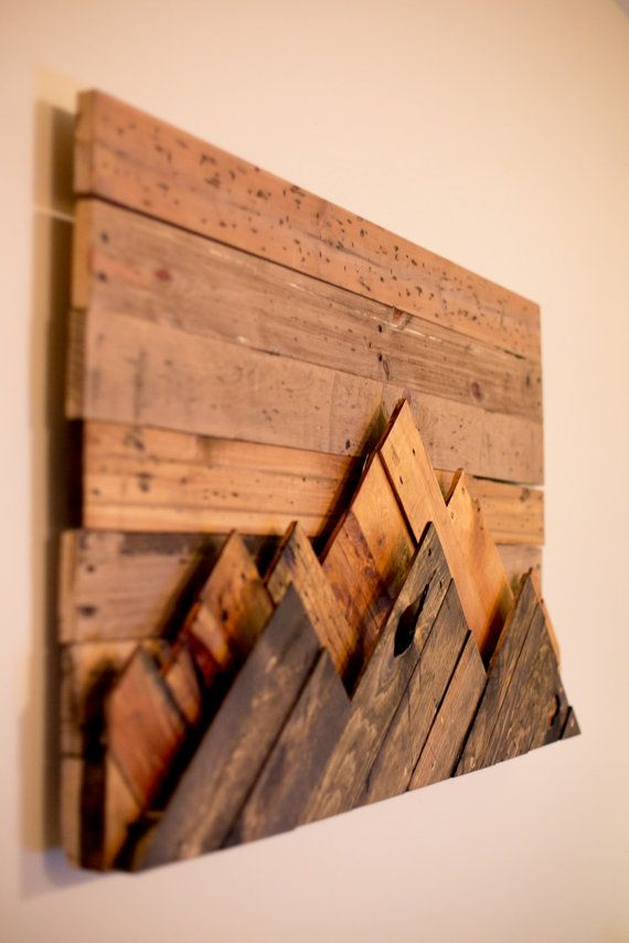 wooden wall art wooden mountain range wall art by 234woodworking on etsy more azfsvoh