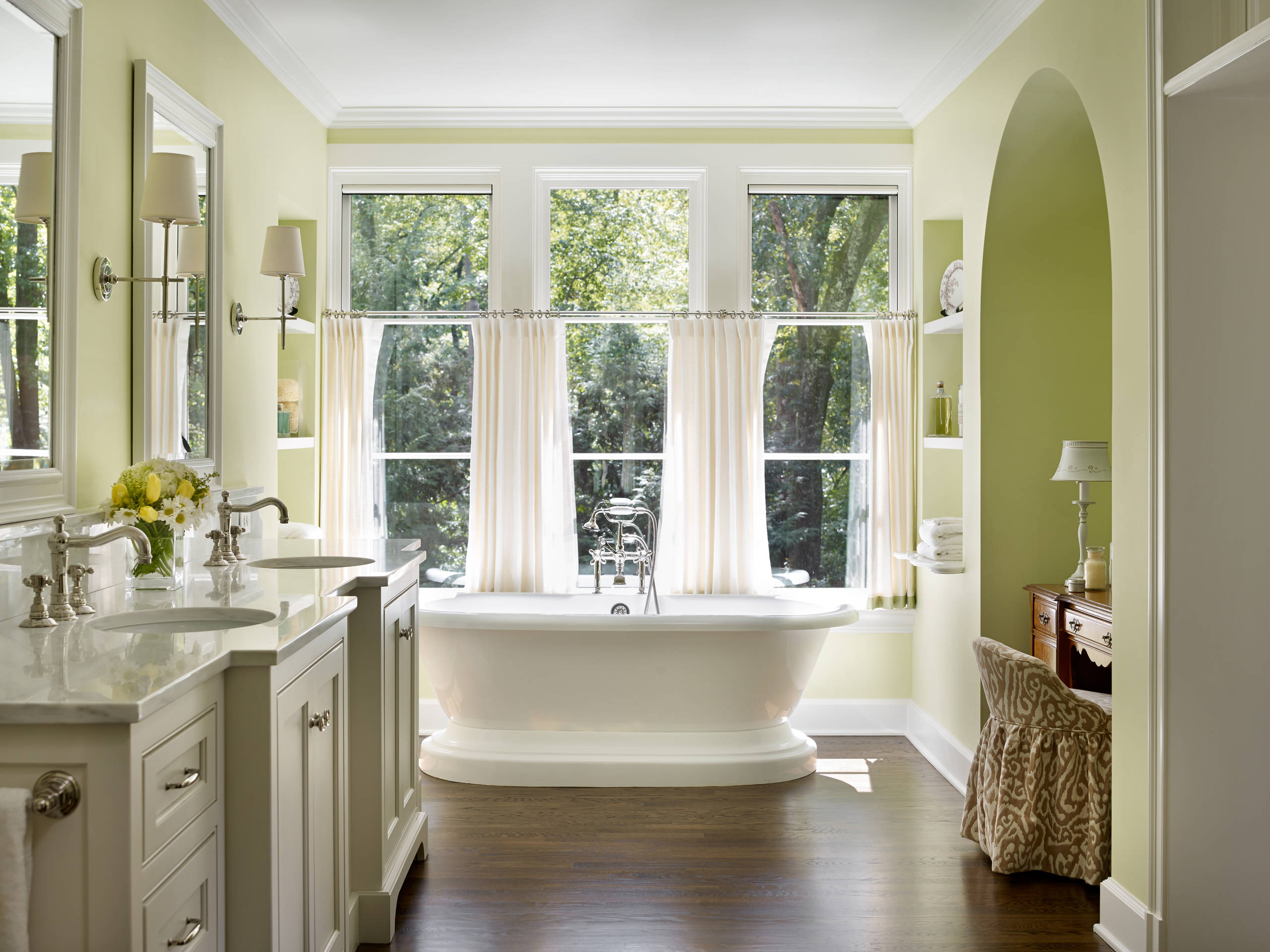 Have a nice shower with nice bathroom curtains