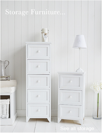 Amazing compact white furniture two piece set of furniture. a modern looking bamboo qauaazy