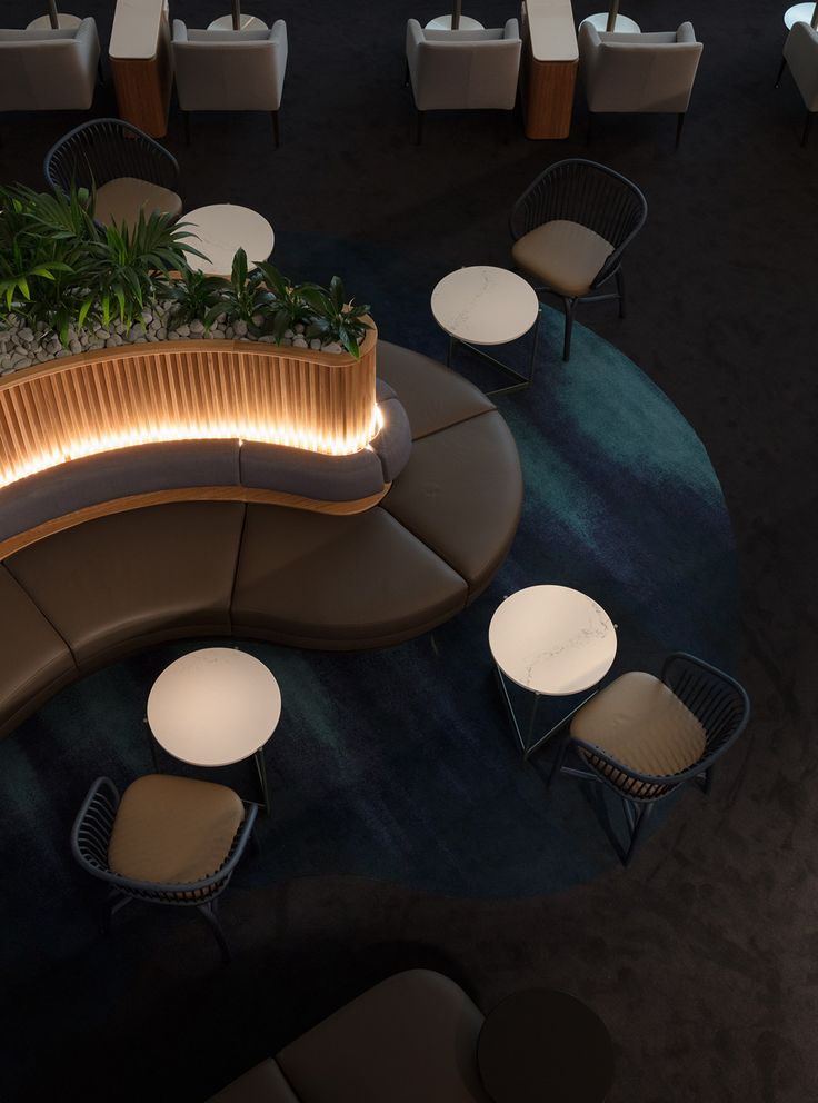 Amazing lounge design a lounge for the tropical jet set - indesignlive | daily connection to kpkafly