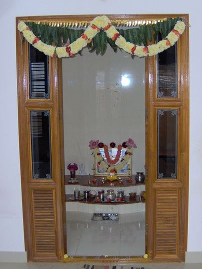 Amazing ... small pooja room designs for home clbgzhj