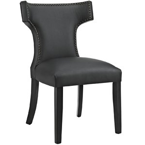 Attractive black dining chairs curve upholstered dining chair ggwmmrz