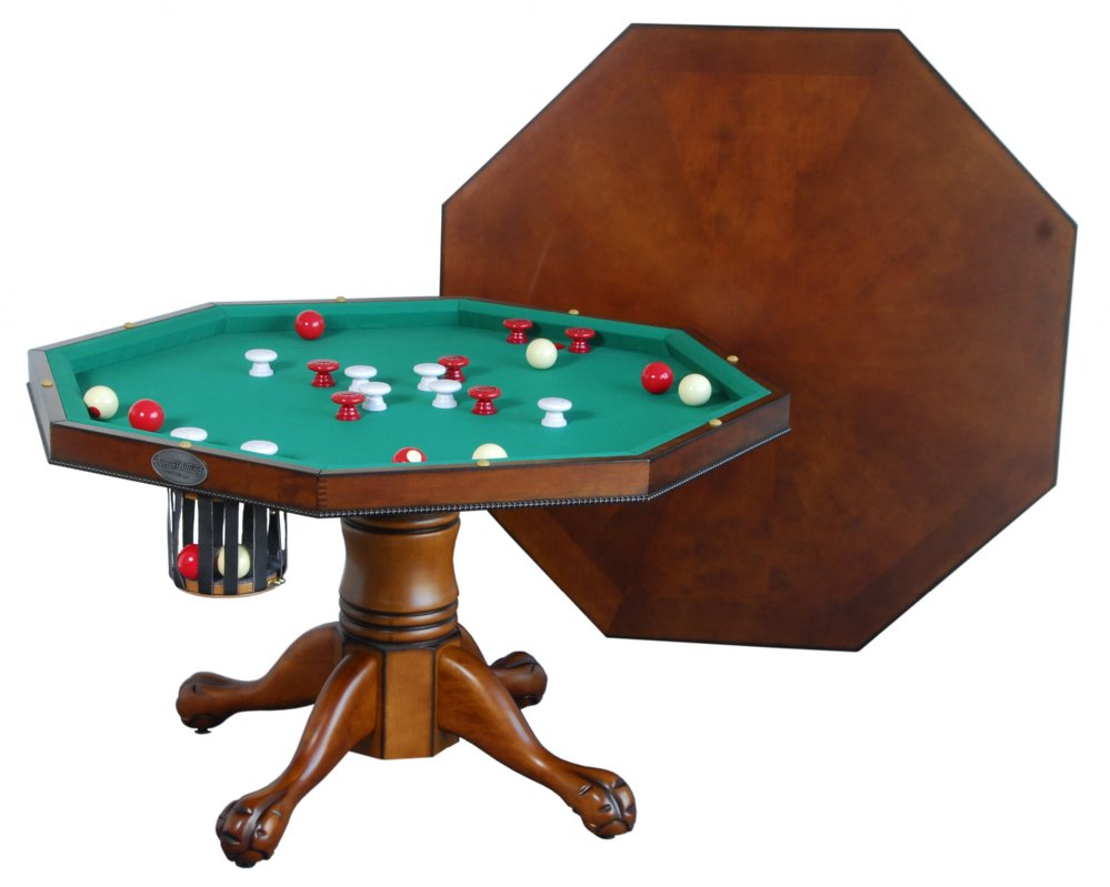 Attractive bumper pool table 3 in 1 table - octagon 48 actsbbe