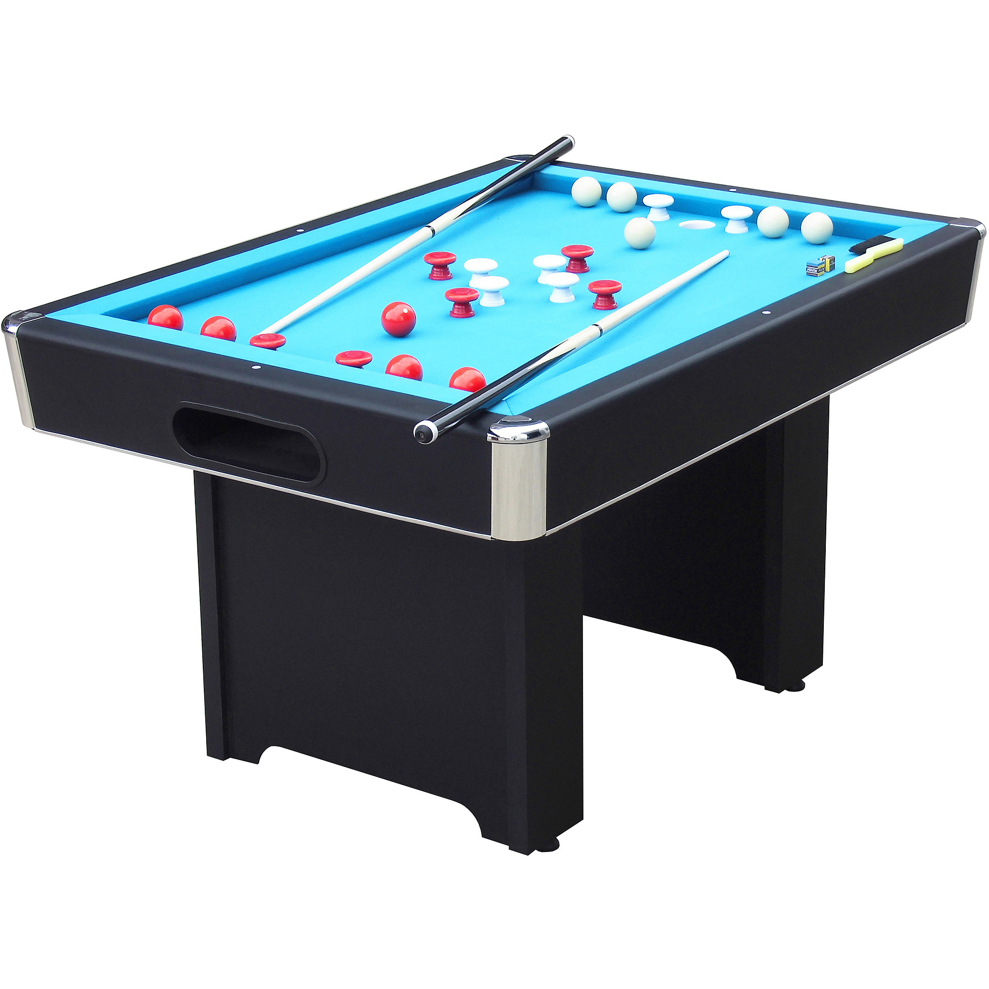 Attractive bumper pool table playcraft hartford slate black bumper 4.5u0027 pool table - walmart.com ectkrkm