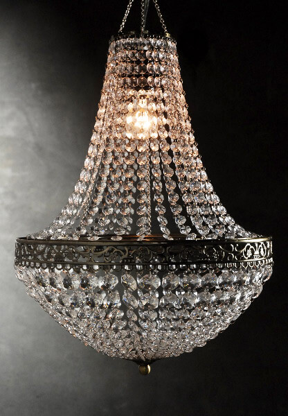 Attractive chandeliers renaissance crystal chandelier 25in with lighting kit ofumypl