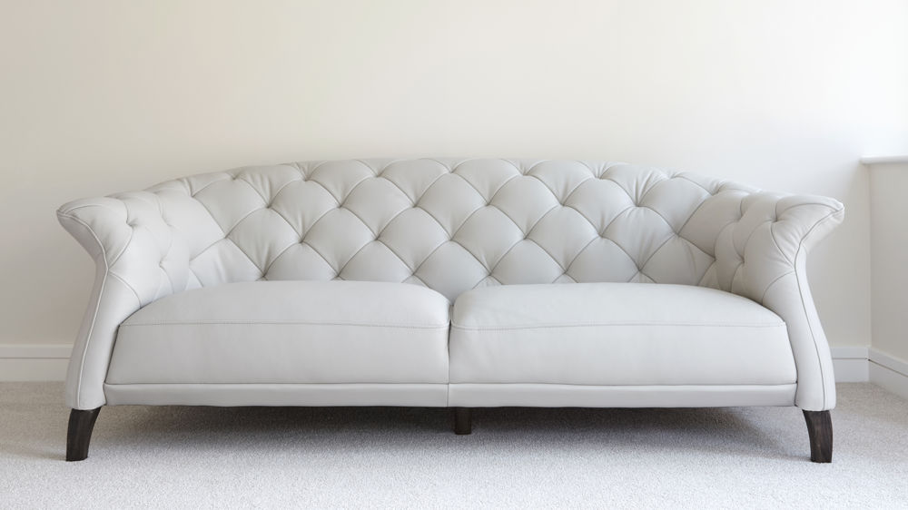 Attractive chesterfield sofa two or three seater modern leather sofa | uk delivery evxwueg