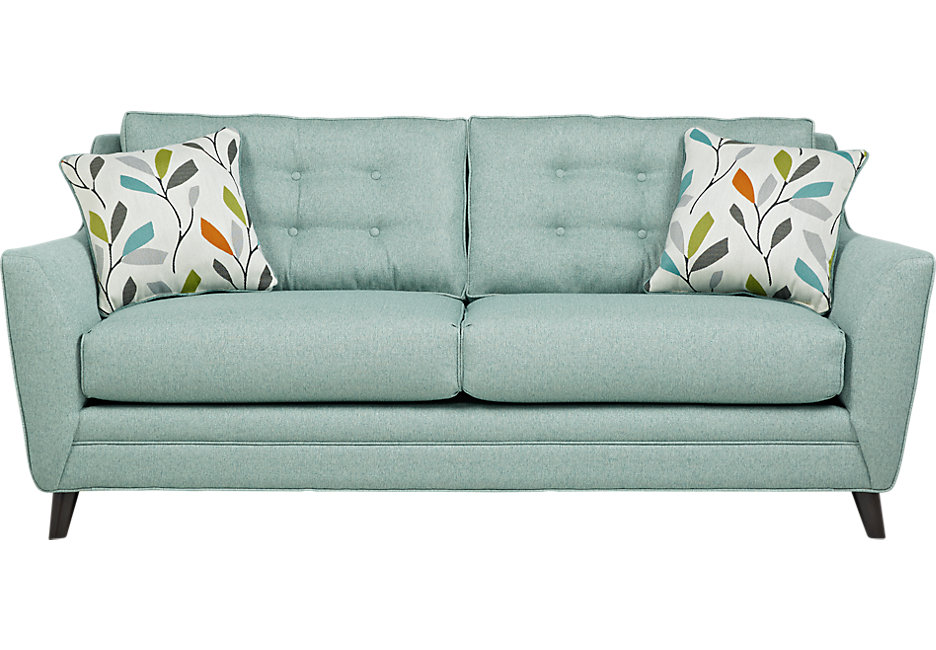 Attractive fabric sofas cobble heights teal sofa gpajdol