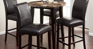 Attractive pub table and chairs finley home milano pub table | hayneedle mafvlhc