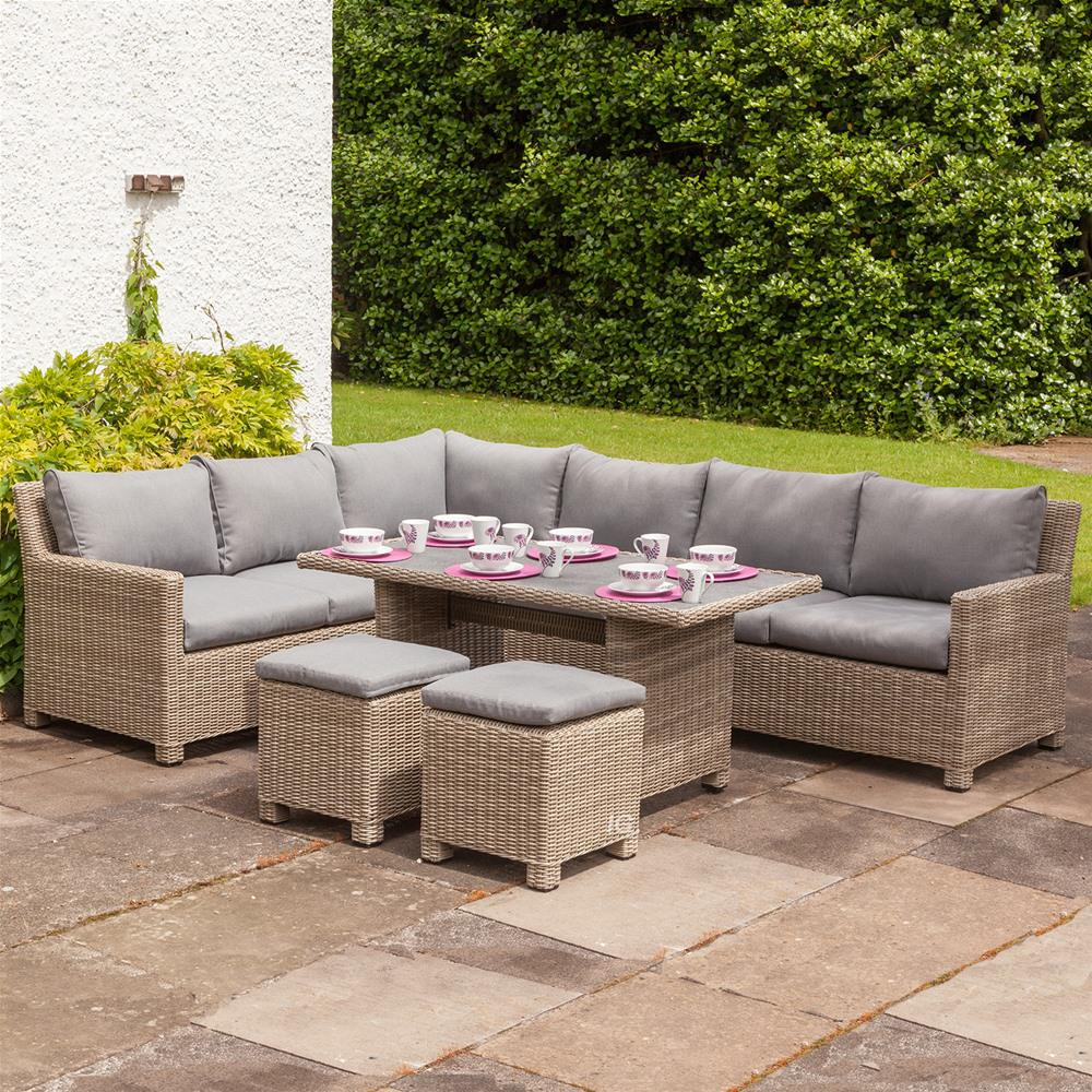 Attractive ... royalcraft wentworth rattan corner sofa dining set ... mtyjblb