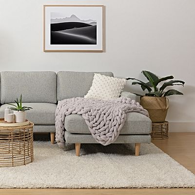 Attractive throw rugs handmade wool chunky knit blanket, small hhozifj