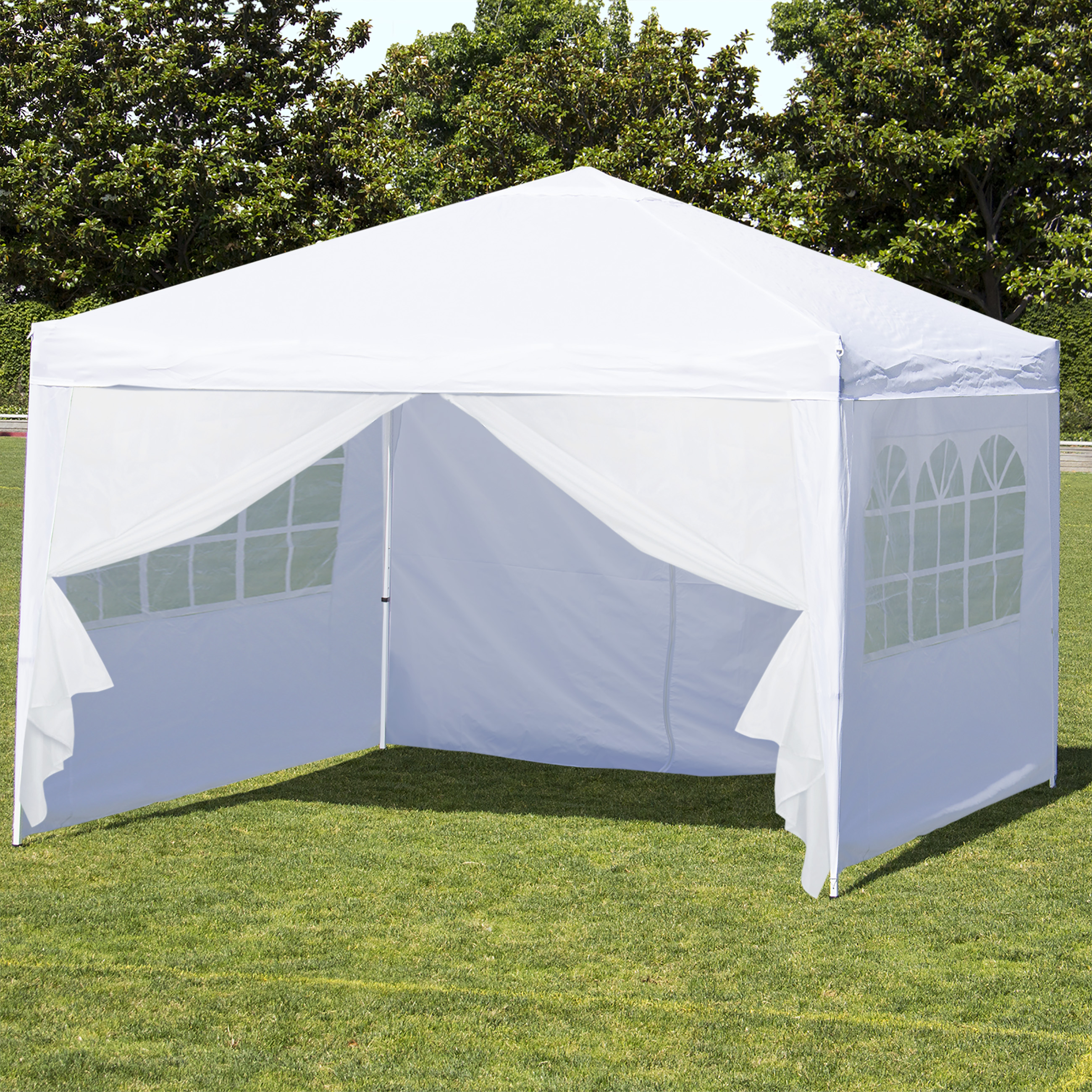 Awesome best choice products 10u0027 x 10u0027 ez pop up canopy tent side walls ahdextb