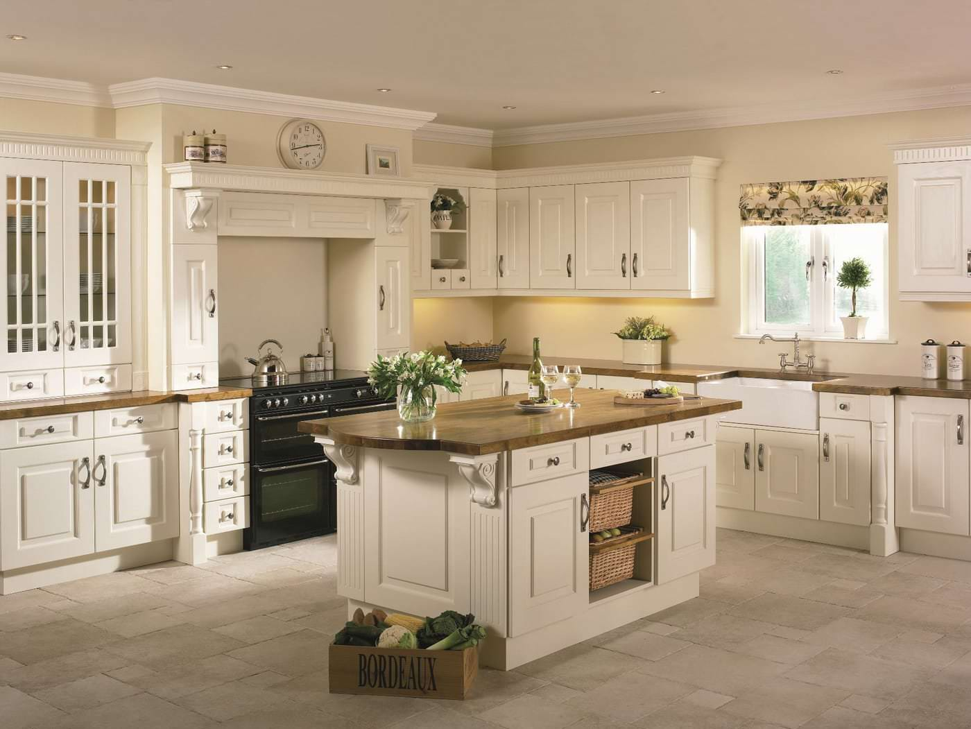 Awesome cream kitchens cream kitchen photos for design inspiration for your kitchen remodeling yovtndl