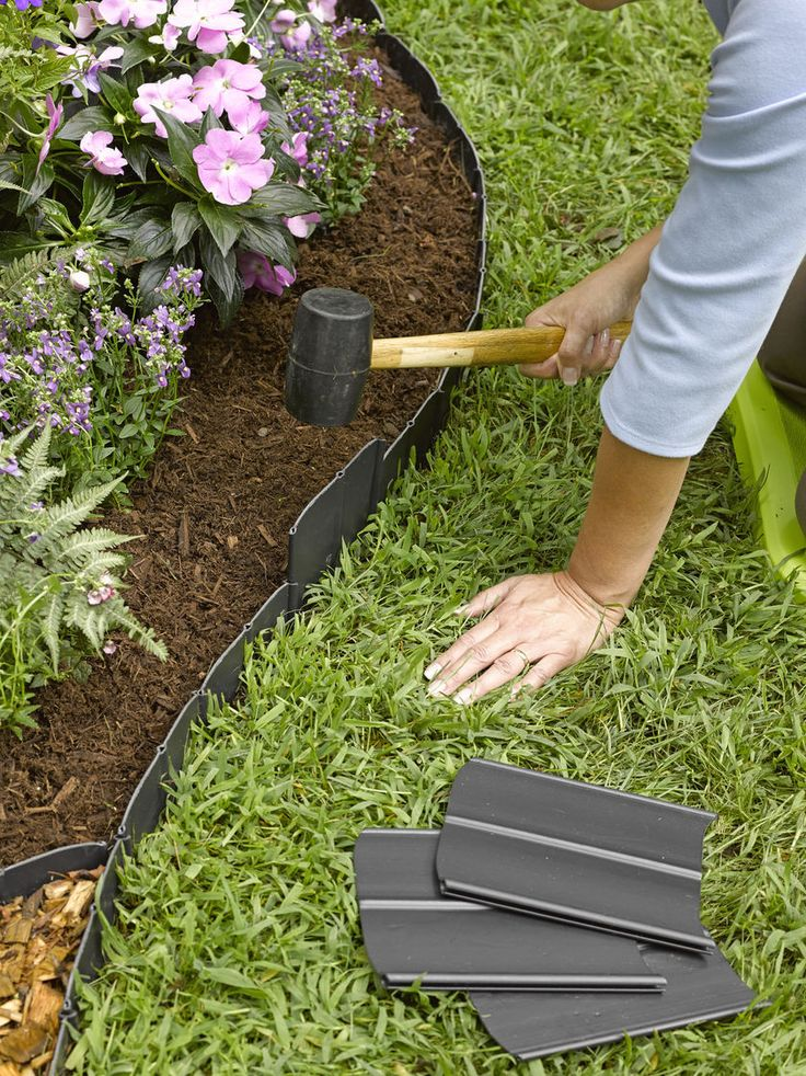 Awesome garden edging pound-in landscape edging | plastic lawn edging | gardeners.com aowcrcs
