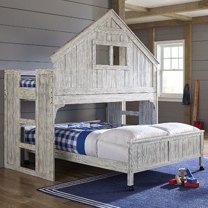 Awesome kids beds lake house twin over full bunk bed bfpghjm