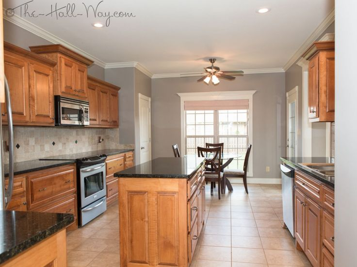 Awesome kitchen paint ideas my cabinets with taupe wall paint kitchen w/ maple cabinets with cherry kudgizr