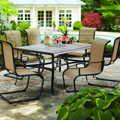 Awesome outdoor dining sets qzpluvj