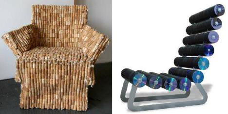 Awesome some recycled furniture designs lack practicality, but are nonetheless  impressive because of tmkaias