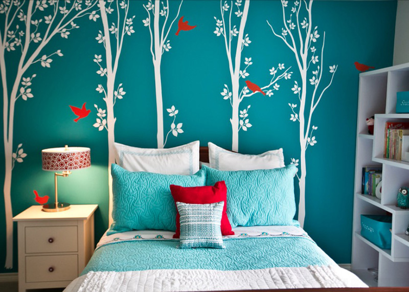 Awesome teen bedrooms collect this idea wall decals. collect this idea teen bedroom ... rlerzcc