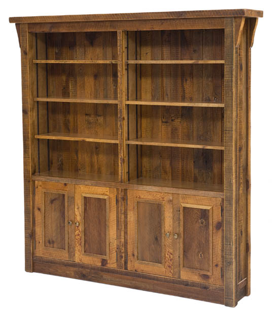 Awesome wood bookcases reclaimed wood bookcase barnwood bookcase uowfgls