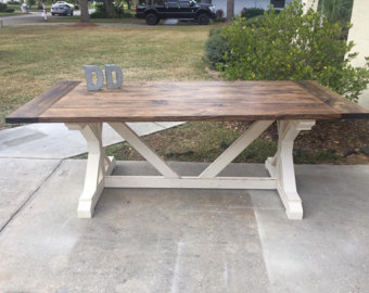 Beautiful 7ft x farmhouse table (local pick up/delivery only!) vchzngb