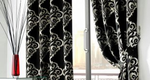 Beautiful black and white curtains black and white living room curtains naincpo