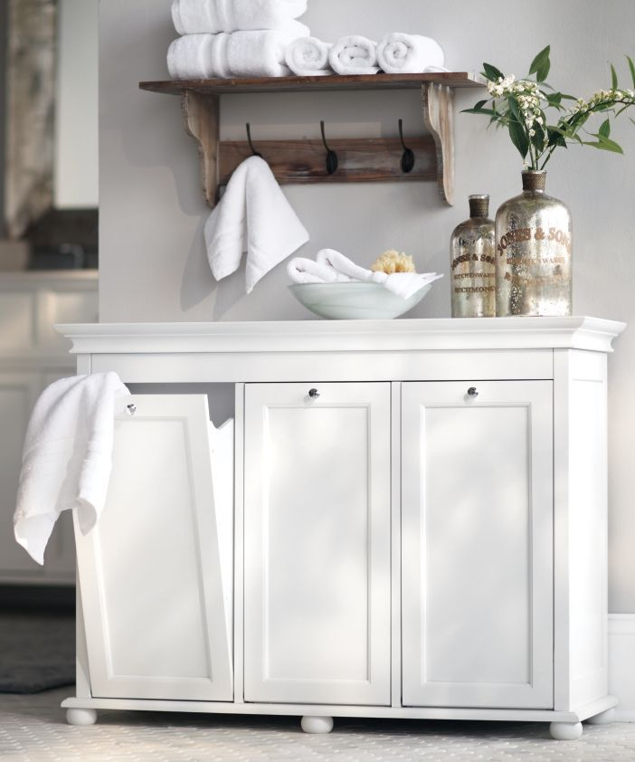 Beautiful laundry hampers 10 great and clever bathroom decorating ideas 5 tzudmka
