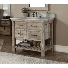 Beautiful rustic bathroom vanities this rustic style bathroom vanity features with tip out trays, soft-closing  drawres, whgmmyb
