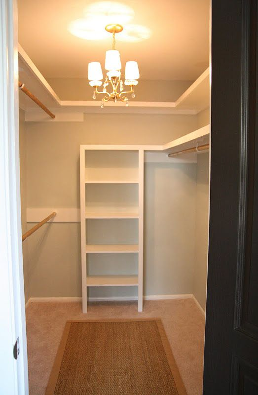Beautiful walk in closet ideas love the chandelier in closet and love that the hanger rods are spray tqstjet