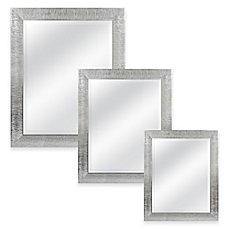 Beautiful wall mirrors image of rocco rectangular mirror in silver udwikms