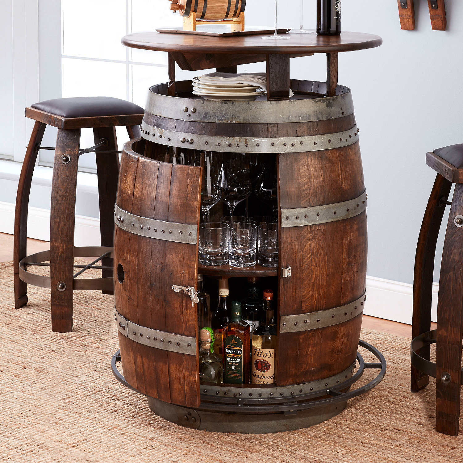 How to take care of your wine barrel furniture