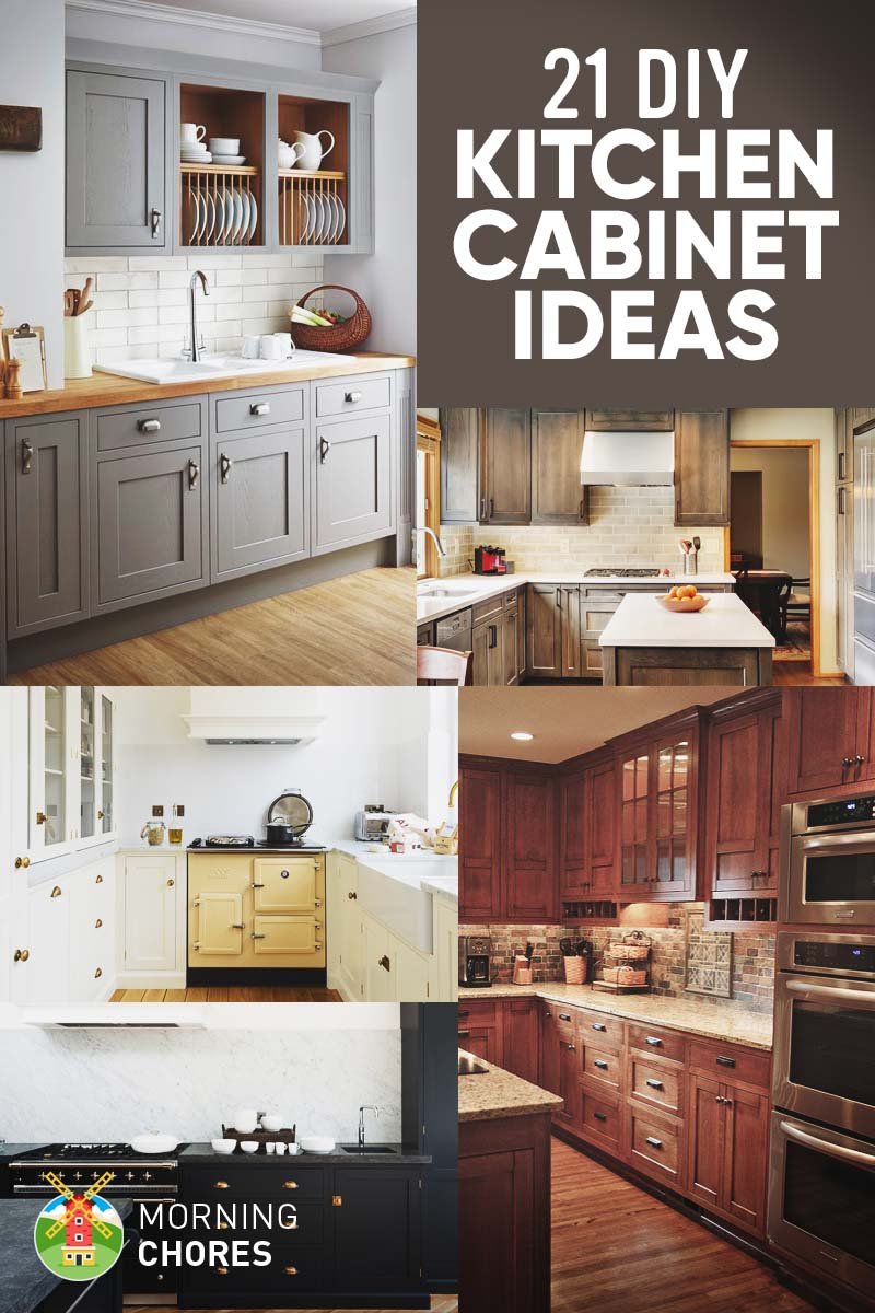 Best 21 diy kitchen cabinets ideas u0026 plans that are easy u0026 cheap to xnlhsnm