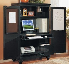 Best antique black #computer armoire home office work wing station. traditional  styled armoire qqdavhf