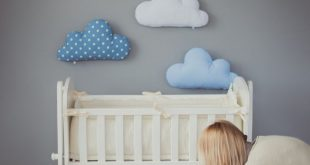 Best baby room kids stuffed cloud shaped pillow - gift ideas baby toddler mobile - white kiprnzu