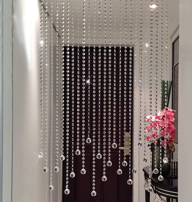 Beaded door curtains for my dining room