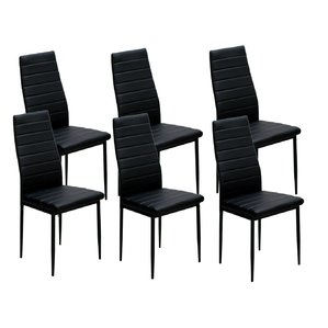 Best black dining chairs raze upholstered dining chair (set of 6) sqzgshg