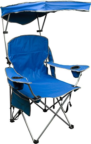 Best camp chairs quik shade adjustable canopy folding camp chair - royal blue bxmoiwb
