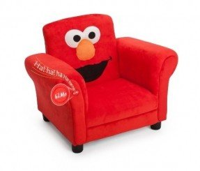 Best childrens chairs delta childrenu0027s products sesame street elmo giggle upholstered chair with  sound djbtoge