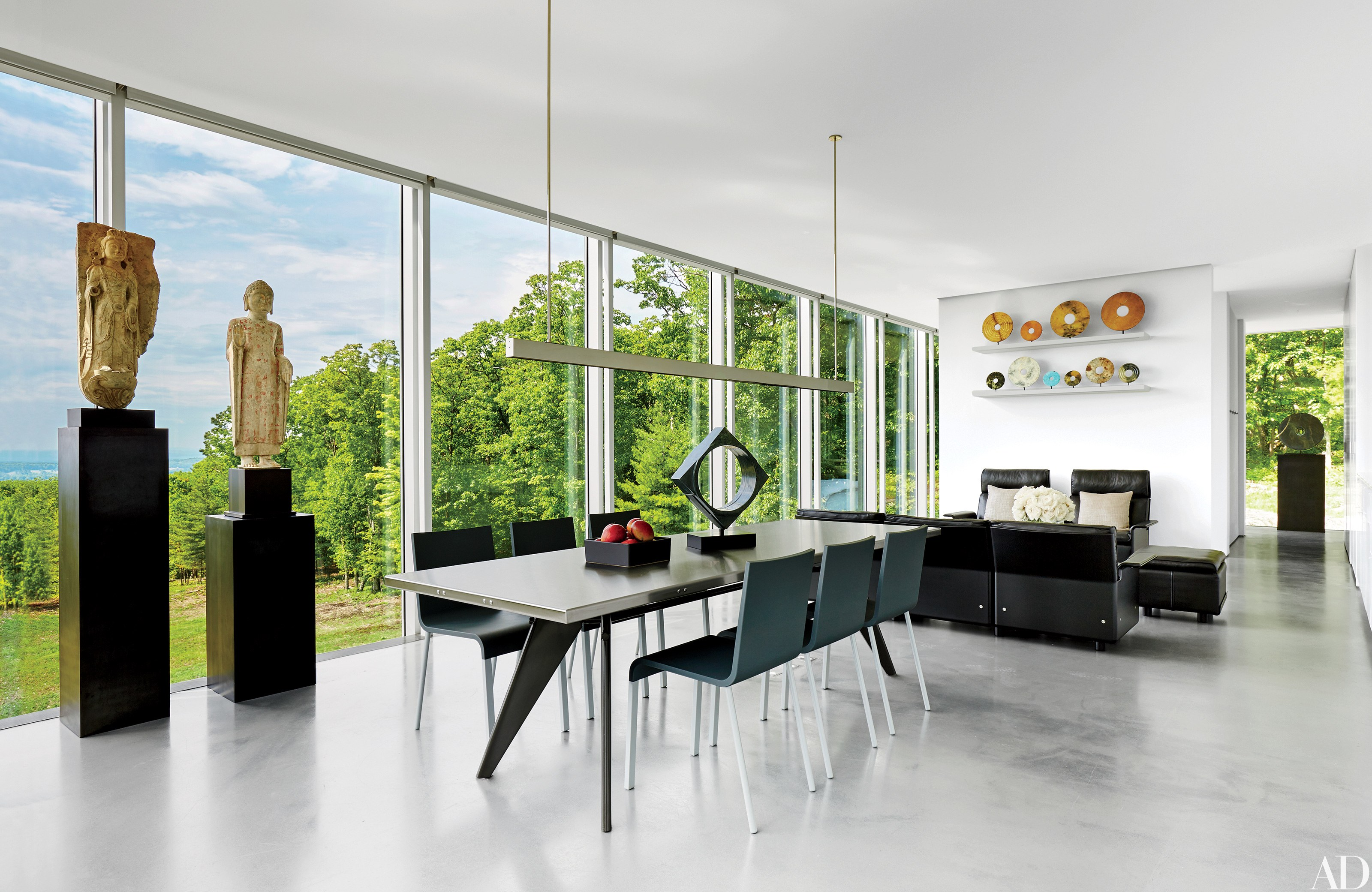 Best contemporary interior design: 13 striking and sleek rooms photos |  architectural digest fekwvdr