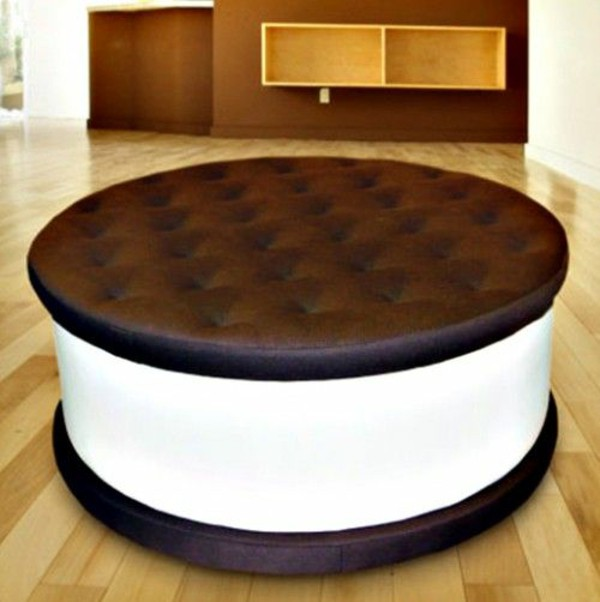Best cool furniture upholstered furniture food designer round cushion coffee table dqwrbjx