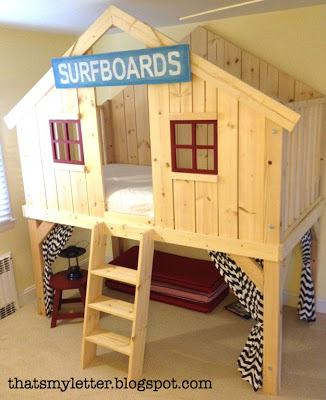 Best loft beds for kids surf shack clubhouse loft bed diy kids ctyhxpu