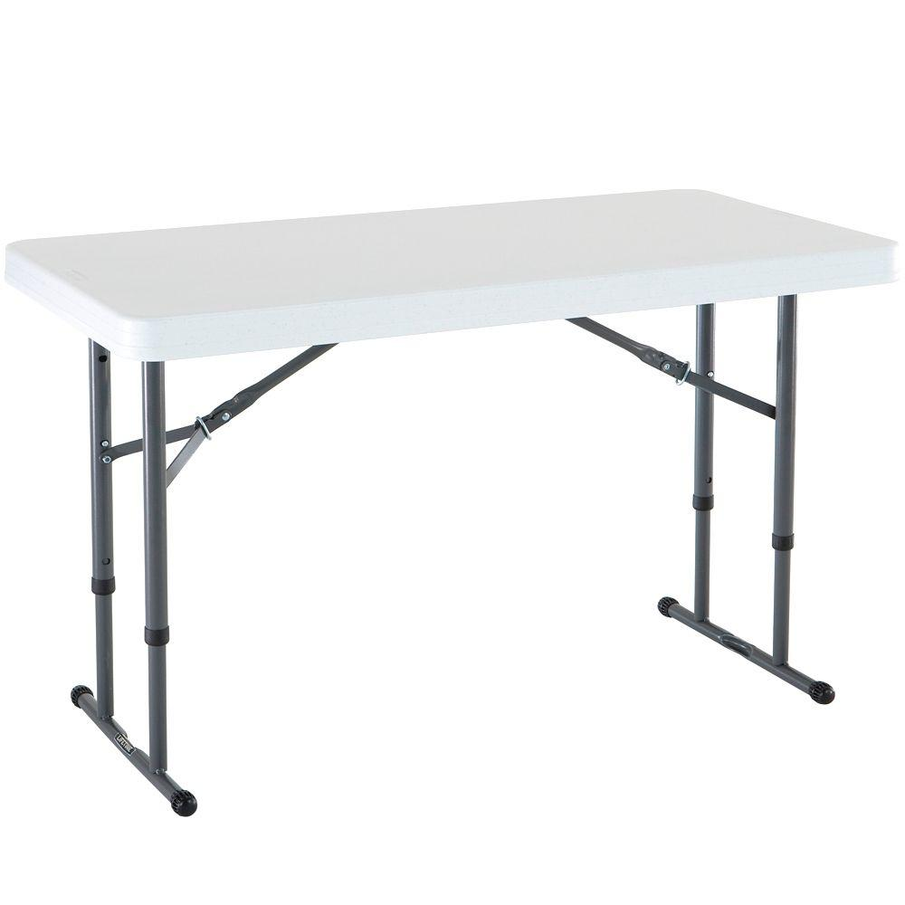 Best white granite adjustable folding table ralnscl
