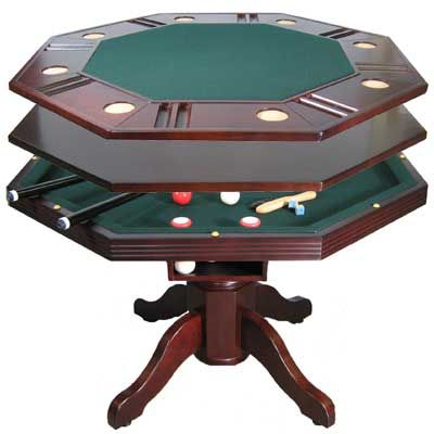Chic 3 in 1 bumper pool table zivxdfc