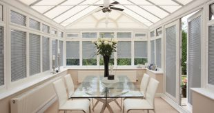 Chic conservatory blinds conservatory blind - aluminium silver dkyjrsy